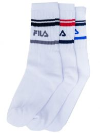 MEDIA FILA TRIPACK MEDIA CANA STRIPES FILA MUJER